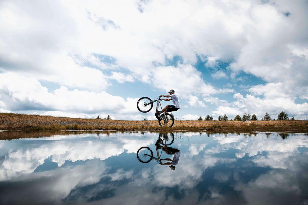 Adrian Krainer Nockbike. Photo Clemens Schattschneider